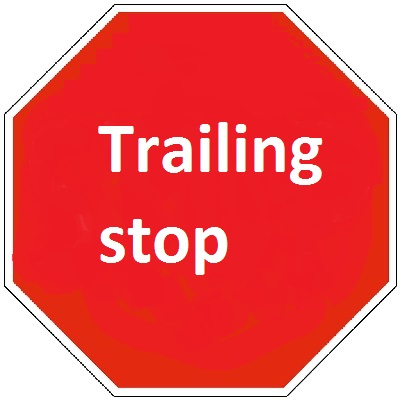 Trailing stop order forex