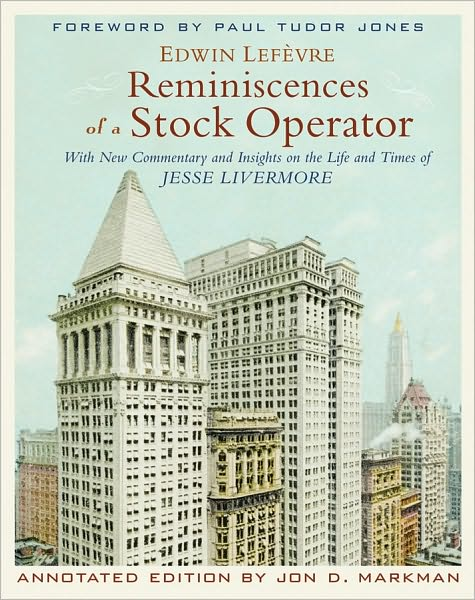 Knihy o daytrading - Reminiscences of a Stock Operator